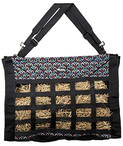 Weaver Leather Slow Feed Hay Bag Black Insignia