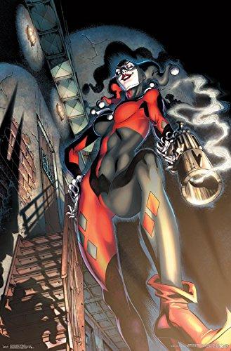 51mAsw4nhqL Harley Quinn DC Comics Posters