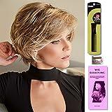3 - Item Bundle : Brenna by Rene of Paris, Wig Cap, Magic Comb, Wiggalaxy Booklet … (Rose Gold)