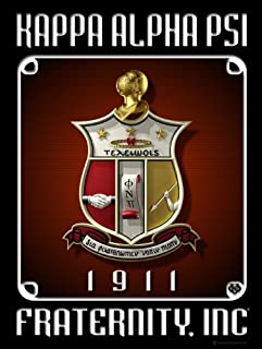 Kappa Alpha Psi Fraternity Shield by Iconic Greek 18
