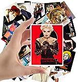 Große Aufkleber (24 Stück 60 x 90 mm) Madonna Poster