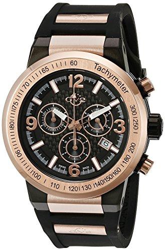 Gevril Uhr mit Schweizer Quarzuhrwerk Man Novara 44 mm