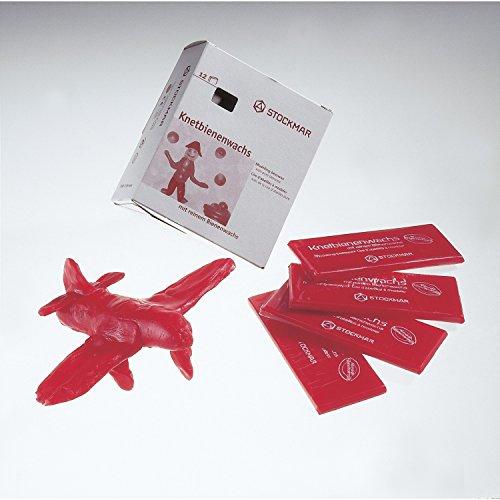 Stockmar Knetbienenwachs - Einzelfarben - 15 Tafeln 100x40x6 mm, Goldgelb