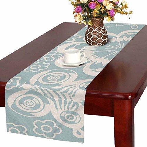 Zenzzle Camino de mesa, 40 x 183 cm, diseño de flores