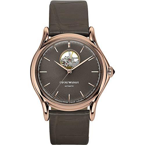 Emporio Armani Swiss ARS3306 - Reloj mecánico para hombre