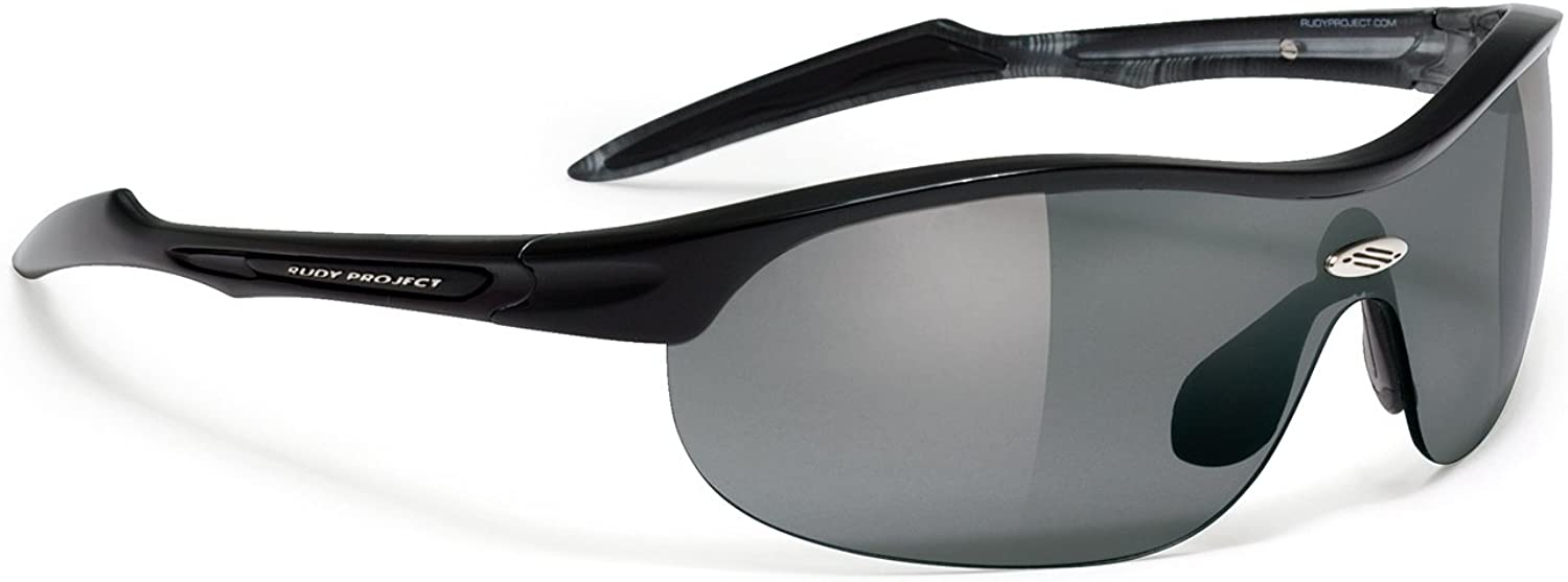 Rudy Project Ability Gloss Lava Frame with Smoke Black Lenses