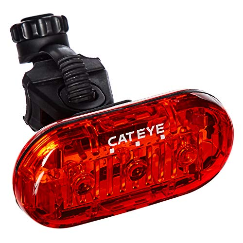 Cateye CTLD135R 3 Luces traseras LED, Unisex Adulto, Negro, Rear Light