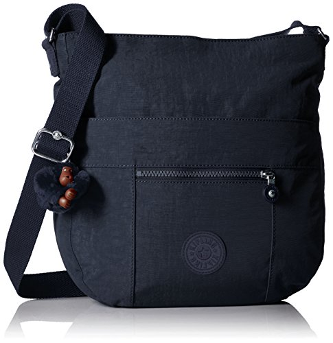 Kipling Bailey Tonal Saddle Bag Handbag, True Blue T