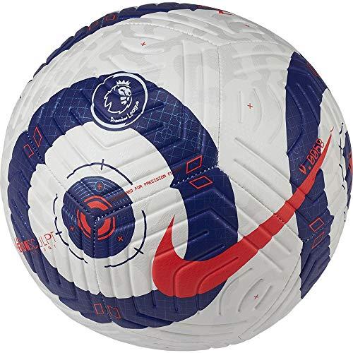 Nike Premier League Strike Size 4 Football White and Blue