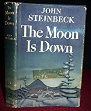 John Steinbeck THE MOON IS DOWN 1942 1stEd, 1st Printing, 1st State, Dust Jacket