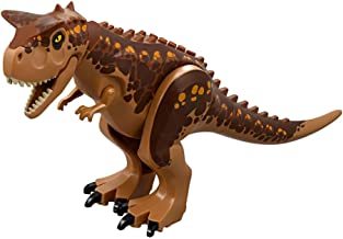 Honneth Dinosaur Toys Figures Large Size Dino Building Block Playset Gift for Kids (Carnotaurus Brown, Large Size)