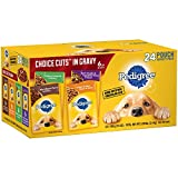 PEDIGREE CHOICE CUTS in Gravy Adult Wet Dog Food Prime Rib & Bacon...
