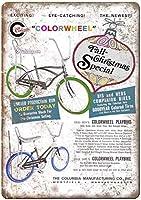 Columbia Bicycle メタルポスター壁画ショップ看板ショップ看板表示板金属板ブリキ看板情報防水装飾レストラン日本食料品店カフェ旅行用品誕生日新年クリスマスパーティーギフト