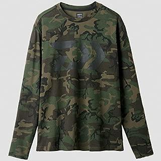 Daiwa Sale DE-8207 T Shirt Long Sleeve Green Camou Size L 228862