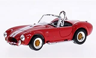 1964 Shelby Cobra 427S/C Convertible, Red w/ Stripes - Road Signature 94227 - 1/43 Scale Diecast Model Car