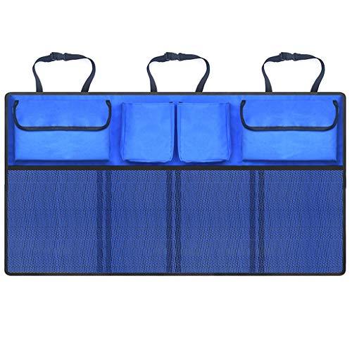 Car Boot Organisateur, Gardez la voiture propre et bien organisé, durable Pliable Cargo Net Stockage for plus d'ouverture du coffre Espace, sécurisé Organisateur voiture avec sangles réglables for tou