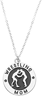 Wrestling Charm Necklace- Wrestling Jewelry for Wrestlers Moms