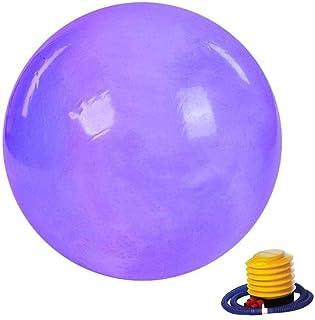 Yoga ball Anti Burst Exercise Ball 65cm Yoga Ball Gym Exercise Anti-Burst & Extra Thick Fitness Weight Loss Swiss Ball wit...