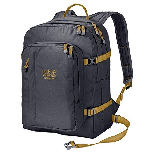 Jack Wolfskin Berkeley Bookpack Daypack Rucksack, Ebony, Einheitsgröße