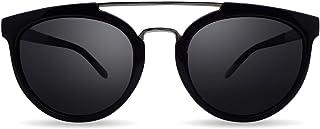 ba89a574e0 Overdose Sunglasses - Sophie Black Silver Double Bridge, Gafas de Sol Negras  Unisex Doble Puente
