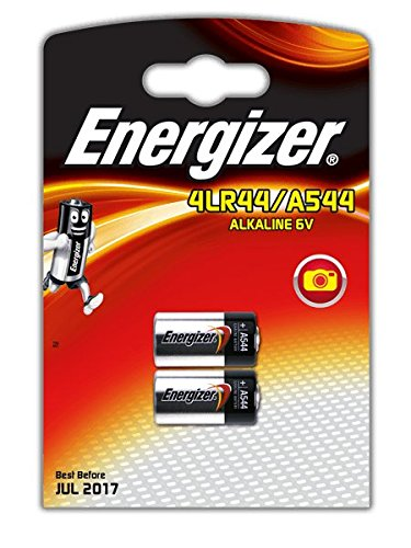 2 ENERGIZER ENERGIZER Alkaline Batterie (6V 4LR44 A544 Antiaboiement Dressur-Halsband für Hunde