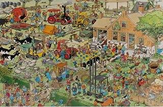 Jumbo Jan Van Haasteren Farm Visit Puzzle (3000-Piece)