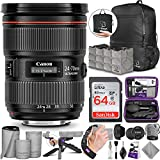 Canon EF 24-70mm f/2.8L II USM Standard Zoom Lens with Altura Photo Advanced Accessory and Travel Bundle