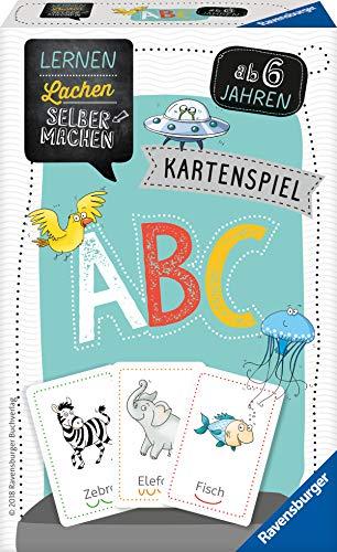Ravensburger Kartenspiel ABC (Lernen Lachen Selbermachen)