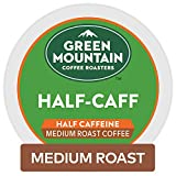 Green Mountain Coffee Roasters Half Caff, Single-Serve Keurig K-Cup Pods, Medium Roast Coffee, 96 Count