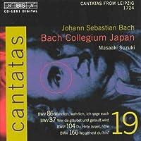 V 19: Cantatas Bwv 37 86 10 by J.S. BACH (2002-10-29)
