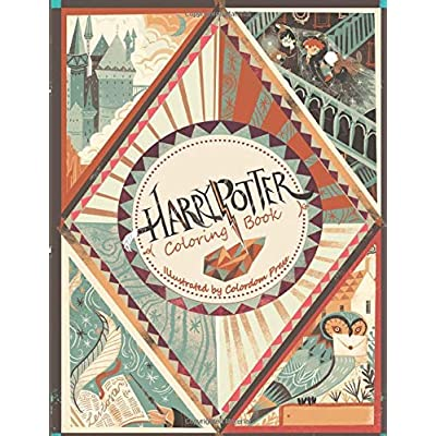 Cheap Harry Potter Coloring Book High Quality Coloring Book For Any Fans Of Harry Potter Compare Prices For Harry Potter Coloring Book High Quality Coloring Book For Any Fans Of