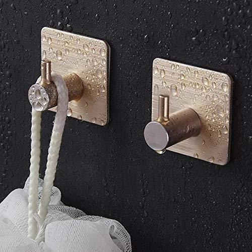 JIAOSHUAIYU Wall Hook Adhesive Aluminum Alloy Towel Hooks