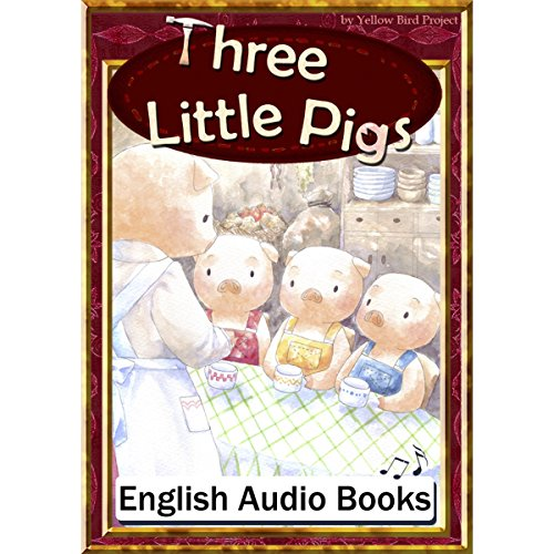 『Three Little Pigs(三びきのこぶた・英語版)』のカバーアート
