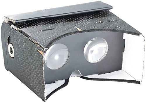 auvisio VR-Handybrille: Virtual-Reality-Brille VRB57.3D für Smartphones, Magnetschalter (Brille für iPhone)