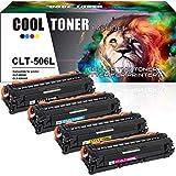 Cool Toner Cartuchos de tóner Compatible para Samsung CLT-K506L CLT-C506L CLT-Y506L CLT-M506L CLX-6260FW CLX-6260FD CLX-6260FR CLP-680ND CLP-680ND CLP-680 (Negro Magenta Amarillo Cian)