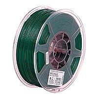 3Dプリンターフィラメント1kg(2.2lb)、PLA +フィラメント1.75mm、より高い靭性-濃い緑色