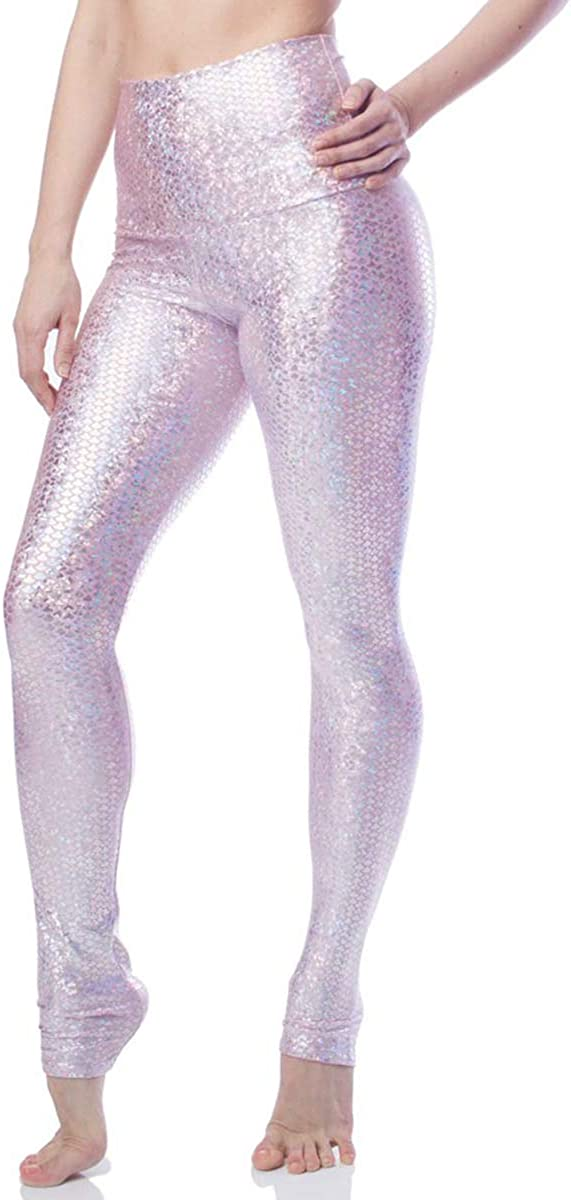 Emily Hsu Designs Max 57% OFF Clearance SALE! Limited time! Pink Mermaid Womens Active Legging Hig Workout
