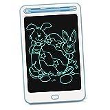 Richgv 8.5 Pollici Tavoletta Grafica LCD Scrittura, Tavolo da Disegno con Blocco dello Schermo, Elettronica Lavagna Cancellabile Portatile Lavagnetta Digitale Ewriter per Bambini (Blu)