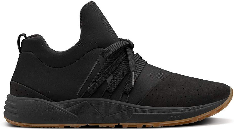 ARKK Copenhagen Men Sneakers Raven Nubuck S-E15 Vibram Black Gum
