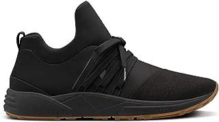 Men Sneakers Raven Nubuck S-E15 Vibram Black Gum
