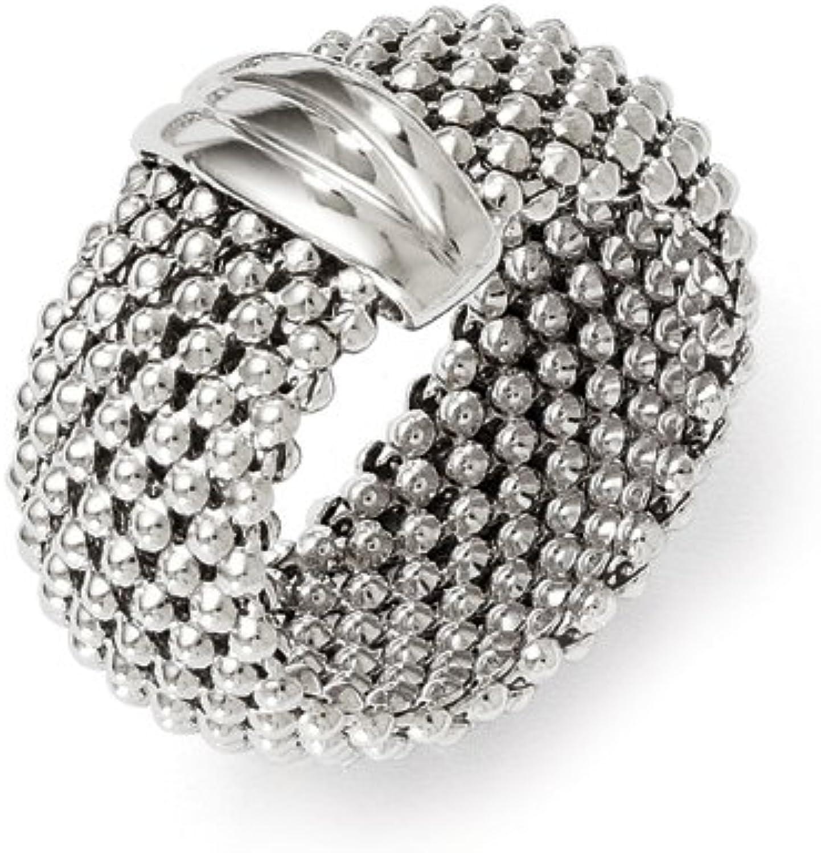 Leslie's Leslie's Sterling Silver Mesh Ring