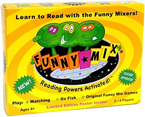 Funny Mix Superhero Phonics Learn to Read Card Game Prek-2nd Grade by Funny Mix card game by Readventures