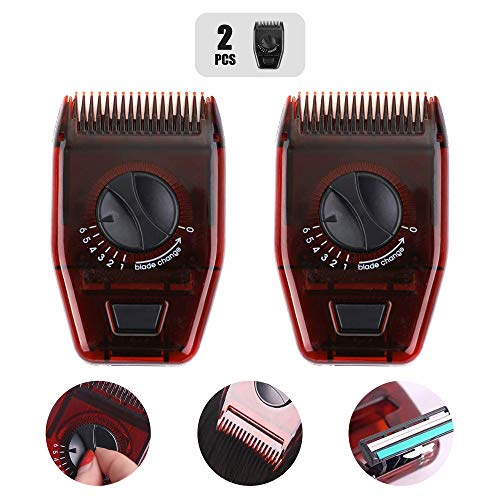 Manual Hair Trimmer,Mini Adjustable Haircut Comb,Portable Barber Razor,Hair Cutting Clipper,Family Hairdressing Thinning Tools,Home Travel Grooming Gadget,Multifunctional Salon Shave Appliance(2 Pcs)