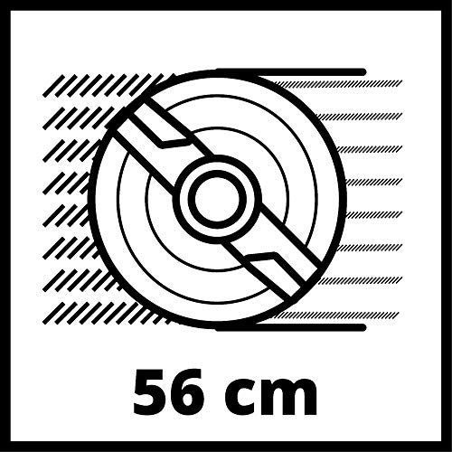 Einhell Tondeuse à gazon thermique tractée GC-PM 56 S HW (Moteur OHV 4 temps,Largeur de coupe 56...