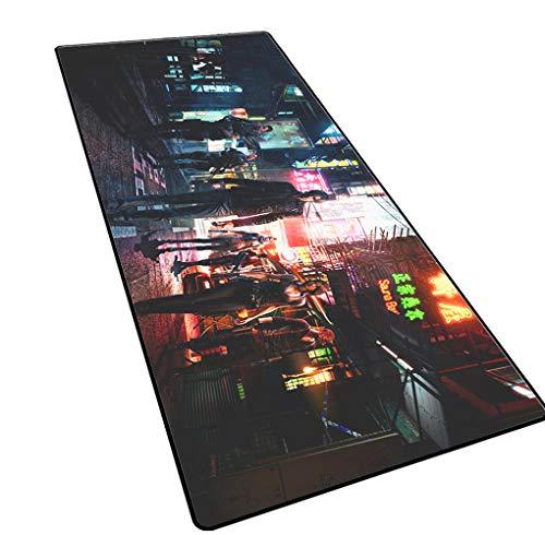 1STSPT Gaming Mouse Pad 900x400x3mm XL/XXL grote grootte Plain geavanceerde anti-slip spel muizen pad bureau mat 800X300X3MM Zombie-6.