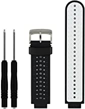 ZSZCXD Soft Silicone Replacement Watch Band for Garmin Forerunner 230/235 / 220/620 / 630/735 Smart Watch