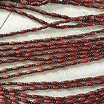 DX Rideau de Perles,Rideaux de Perles en Bois Rideaux de séparation de Rideaux Suspendus Porte-moustiquaire pour Portes fenêtres décoration de Patio (Couleur: A, Taille: 80x90cm (2.62x2.95in)) #1