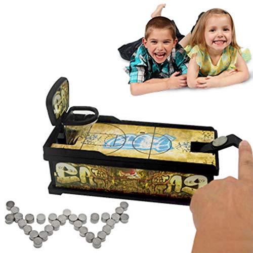 Lamptti Kinder Spielzeug Münze Schießen Sparschwein Schießen Münze Bank Munching Spielzeug Innovative Desktop Basketball Court Spiel Interaktive Sparschwein Kinder Spielzeug