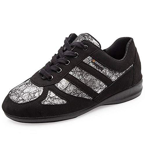 Zapatillas Casual Mujer CALZAMEDI,Piel Color Negro...