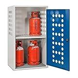 Propangasflaschen-Schrank Steinbock®, 1-türig - Zur sicheren Außenlagerung von Druckgasflaschen